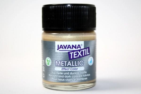 JAVANA TEXTIL METALLIC, 50 ml, Metallic-Gold