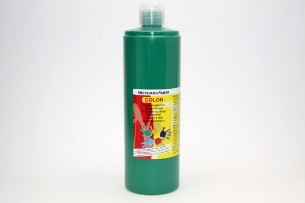 EBERHARD FABER Fingermalfarbe, 750 ml, kobaltgrün tief