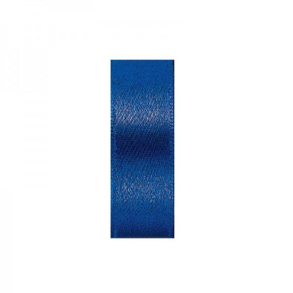Satinband, doppelseitig, Länge 10 m, Breite 10 mm, royalblau