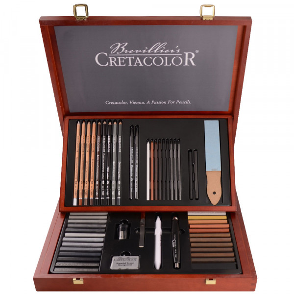 CRETACOLOR Künstler-Set Selection 40060