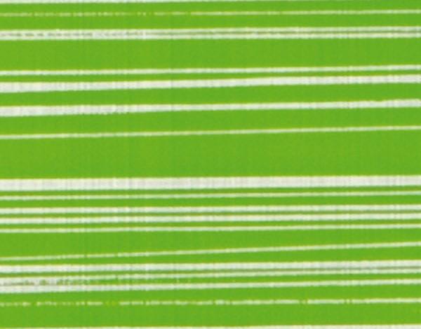 Verzierwachsplatten, silber gestreift, 10 St., gelbgrün