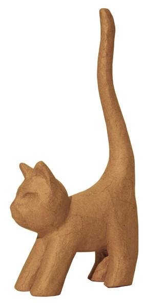 decopatch Tierfigur Katze, 9,3x3,5x16,5 cm