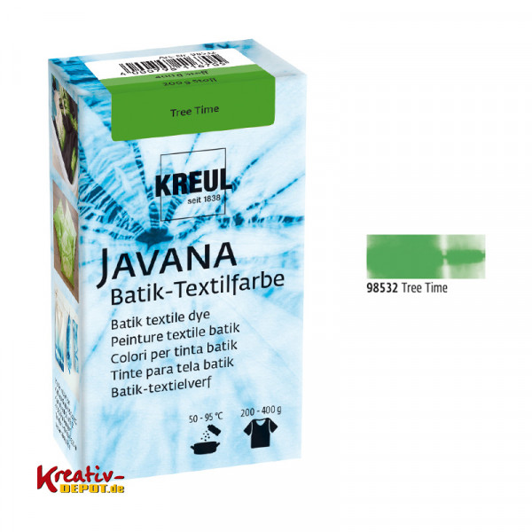 Javana Batik Textilfarbe 70g - Tree Time