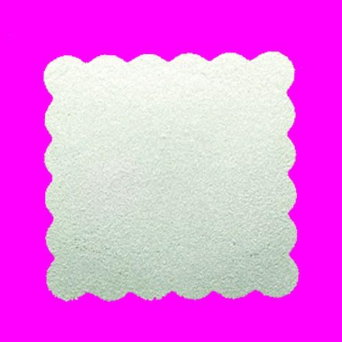 Stanzer Quadrat gezahnt, ca. 3,8 x 3,8 cm