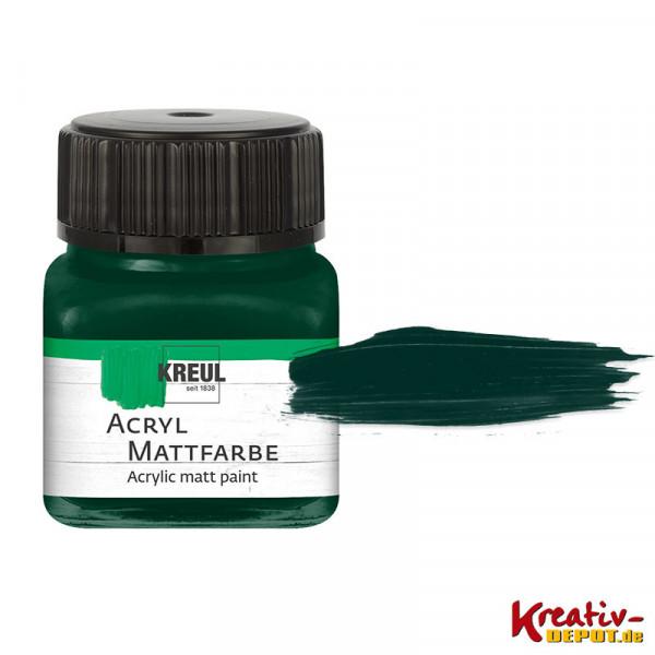Kreul Acryl-Mattfarbe, 20 ml, Tannengrün