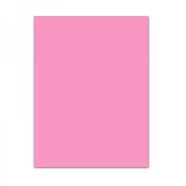 Bastelkarton, 10er Pack, 220 g/m², 50x70 cm, rosa