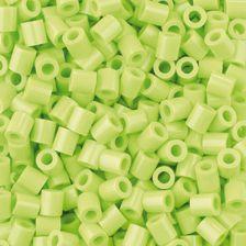 Nabbi Bügelperlen, 1.100 Stück, gelbgrün