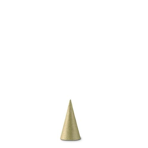 Pappmaché Kegel ∅ 3 x 6 cm