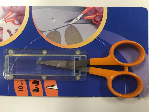 Fiscars Classic-Scheren orange, Stickschere, 10cm, Sonderposten