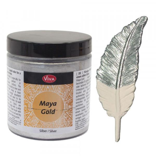 Viva Decor Maya-Gold, 250 ml, Silber