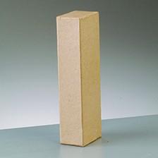 Buchstabe I, 10 x 3 cm, aus Pappmaché