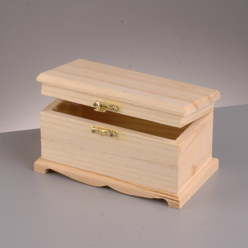 Holztruhe, 12x5,5x6 cm