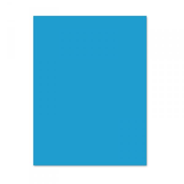 Blumenseide, 5 Bogen, 50 x 70 cm, blau