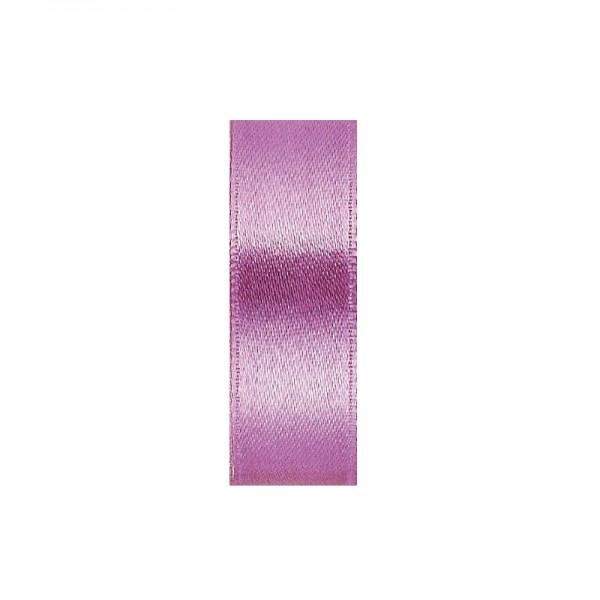 Satinband, doppelseitig, Länge 10 m, Breite 5 mm, helllila