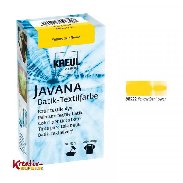 Javana Batik Textilfarbe 70g - Yellow Sunflower