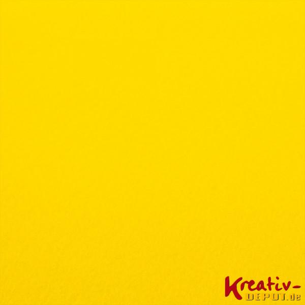 Bastelfilz, 1mm, 20x30cm, gelb