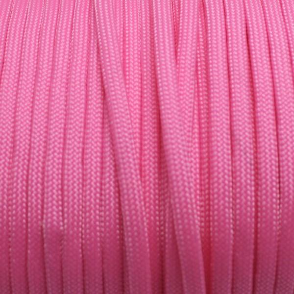 Paracord Knüpfgarn oval - Neon Pink, 10 mtr.