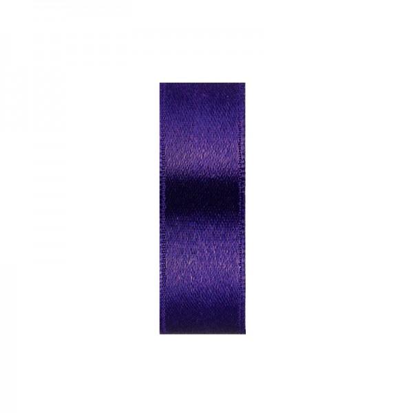 Satinband, doppelseitig, Länge 10 m, Breite 3 mm, pflaume