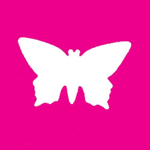 Stanzer Schmetterling, 69 x 41 mm