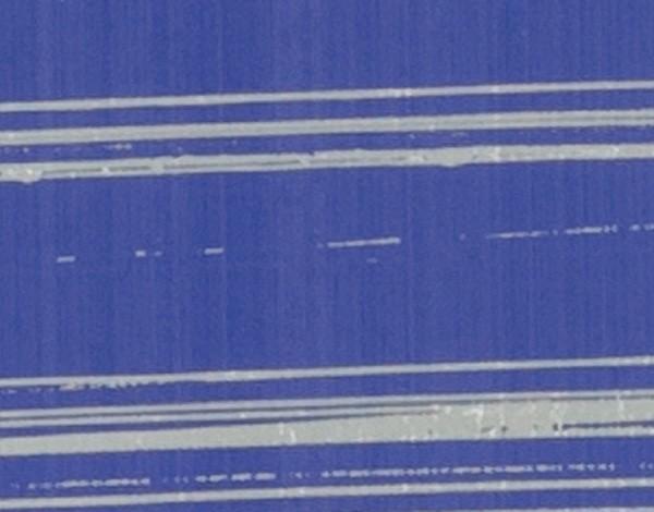 Verzierwachsplatte, silber gestreift, 200x100x0,5mm, flieder