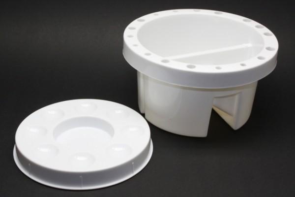 Pinselwascher aus Kunststoff