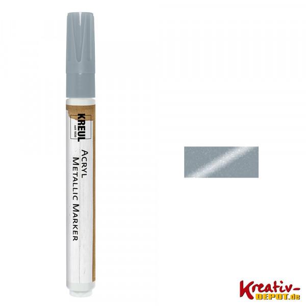 KREUL Acryl Metallic Marker, silber