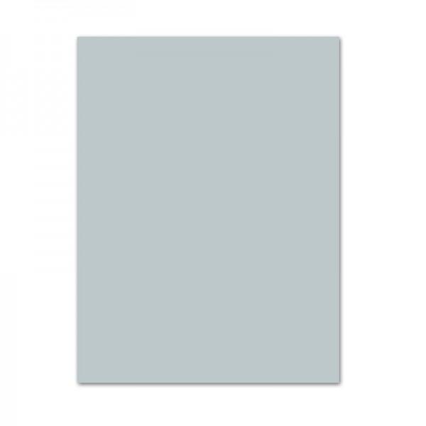 Bastelkarton, 10er Pack, 220 g/m², 50x70 cm, hellgrau