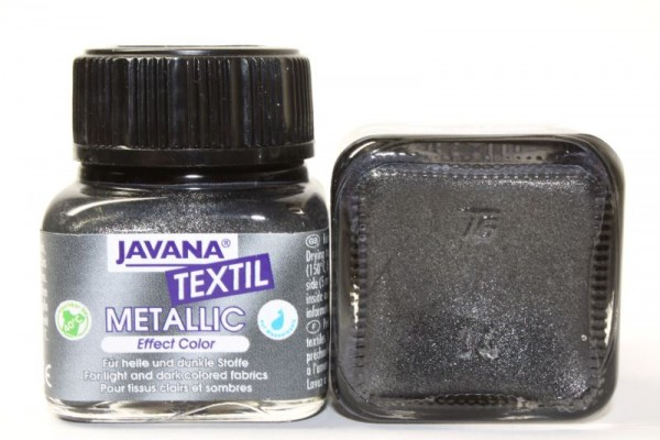 JAVANA TEXTIL METALLIC, 20 ml, Metallic-Anthrazit