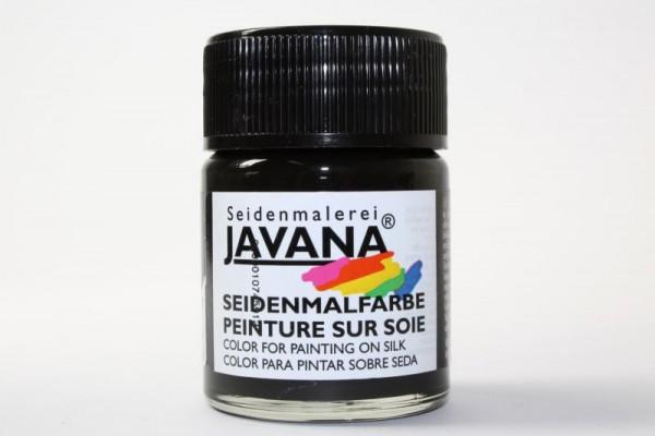 JAVANA Seidenmalfarbe, 50 ml, Schwarz