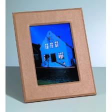 Bilderrahmen, aus Pappmachè,rechteckiger Ausschnitt, 24 x 19 cm