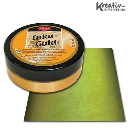 Viva Decor Inka-Gold, 62,5 g, Grün-Gelb