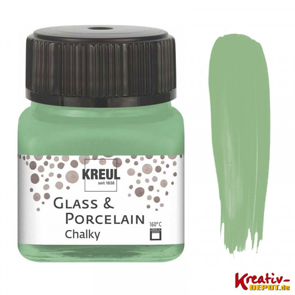 Glass & Porcelain Chalky - Rosemary Green