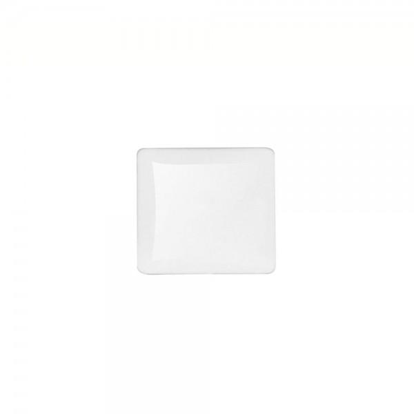 6 x Cabochon Glassteine, quadratisch 20x20mm