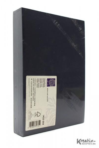 Doppelkarten, DIN A5, 21x14,8cm, 50 Stück, marineblau