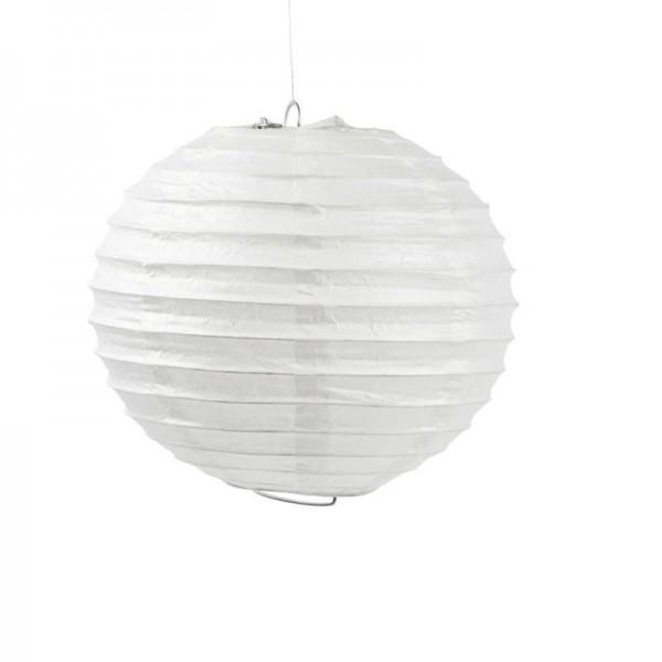Papierlampe, weiß, 20cm