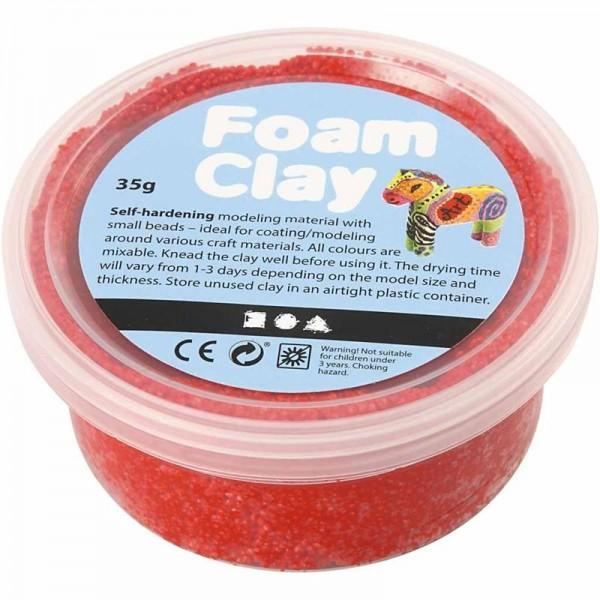 Foam Clay - Rot, 35g
