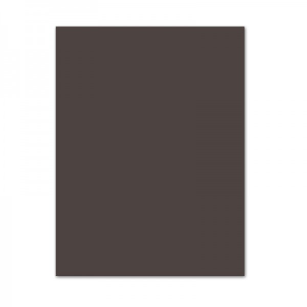 Fotokarton, 10er Pack, 300 g/m², 50x70 cm, dunkelbraun