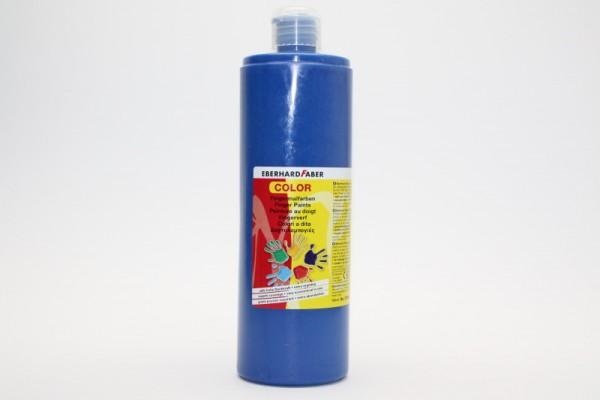 EBERHARD FABER Fingermalfarbe, 750 ml, kobaltblau