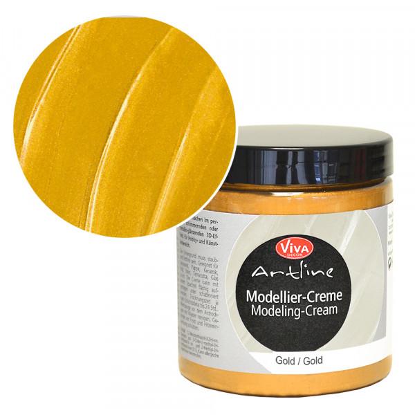 Viva Decor Modellier-Creme, 250 ml, Gold