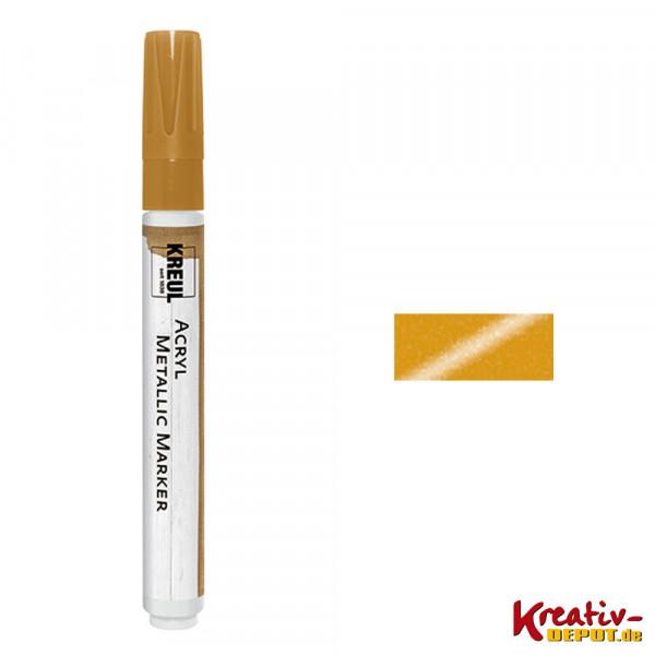 KREUL Acryl Metallic Marker, gold