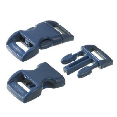 Klickschnalle, 11/14 mm - blau