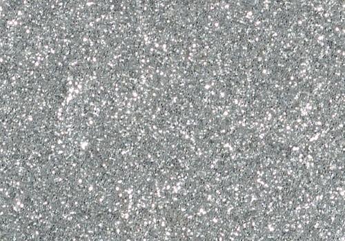 Glitter Glue, 50 ml silber
