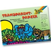 Transparentpapier, 10 Bg. 20 x 30 cm, 42 g/m²