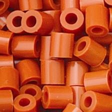 Bügelperlen, 3.500 Stück, karamell