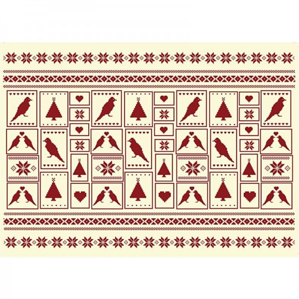 Decoupage-Papier, 17g, 25x35cm, 10 Blatt, Motiv Nr. 557