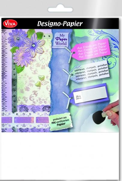 Viva Decor Designo-Papier, 240 g/m², 25 Blatt, DIN A5
