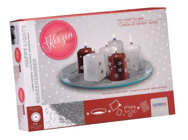 Kerzen-Creativ-Set Weihnachten