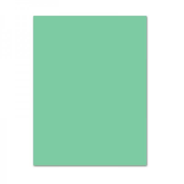 Tonpapier, 10er Pack, 130 g/m², 50x70 cm, mint