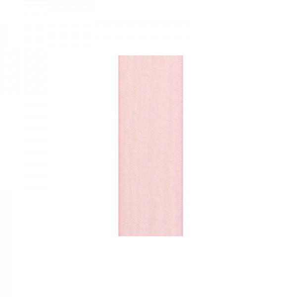 Chiffonband, 6mm breit, 10m lang - hellrosa