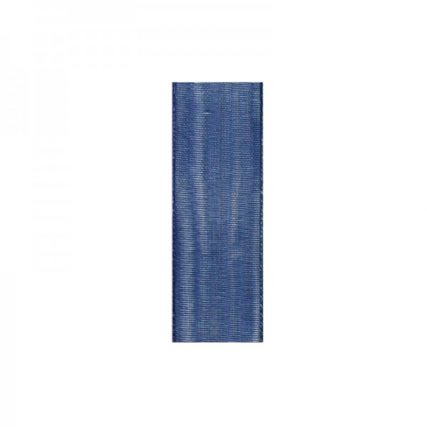 Chiffonband, 3mm breit, 10m lang - dunkelblau